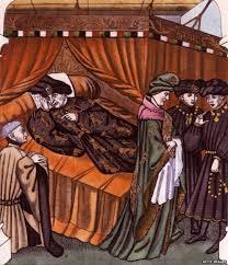 El Rey Carlos VI de Francia, creía que estaba hecho de cristal y temía romperse.