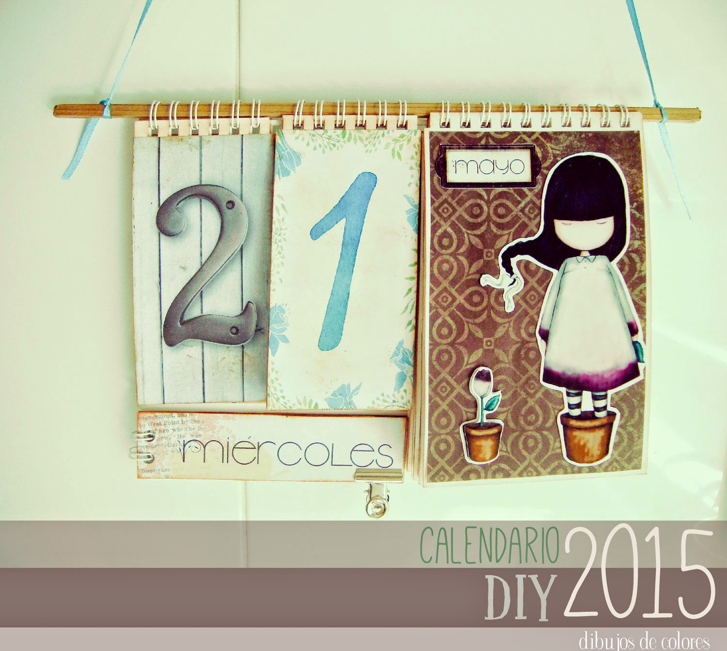 Calendario Gorjuss 2015 Scrapbook