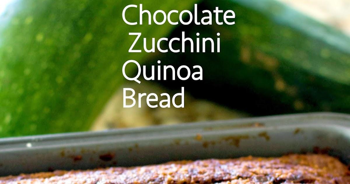 Grain Crazy: Chocolate Zucchini Quinoa Bread (Gluten Free)