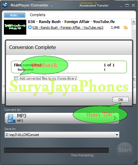 Real Player Converter - Convert RealVideo and RealAudio media files