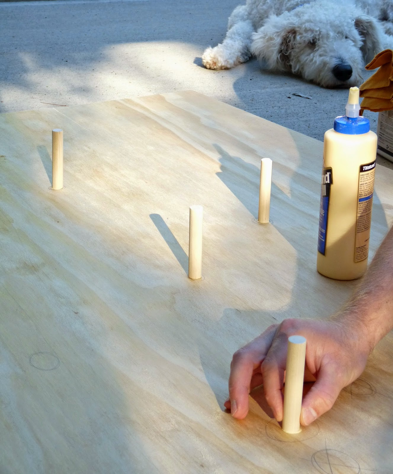 Projects using plywood