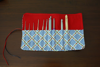 How to crochet needle bag