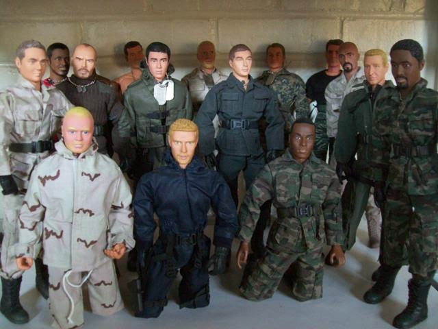 M&C Toys, Incorporated Power Team action figures.