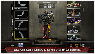 Real Steel, Game Android Tinju Robot Grafik Mantap