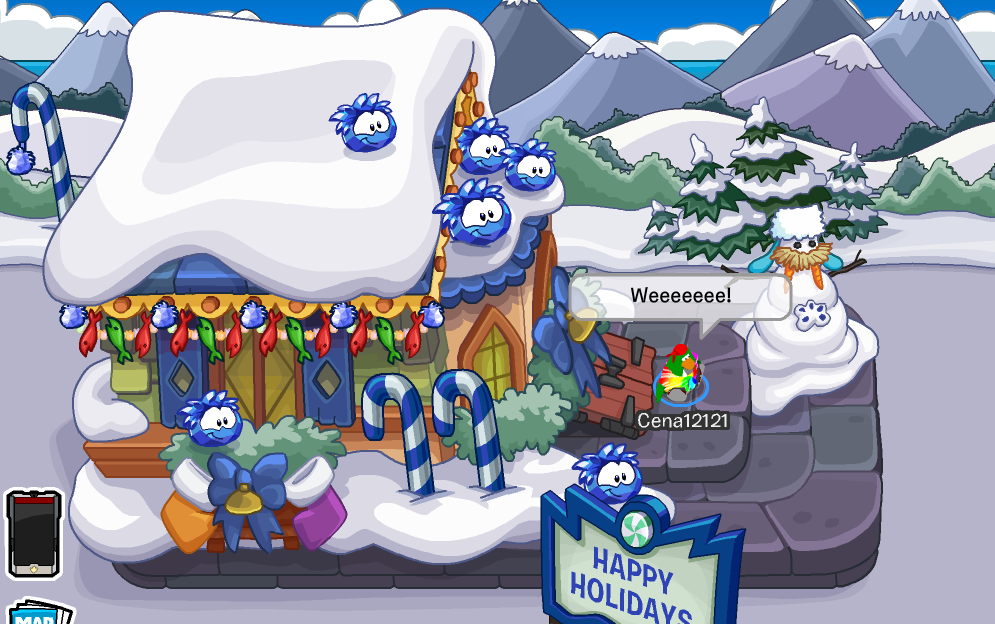 Club Penguin Merry Walrus Parade