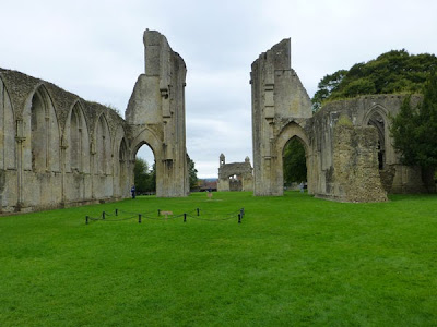 Glastonbury Abbey, Photo by Kaliani Devinne, Copyright 2013