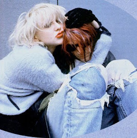 Courtney Love e Kurt Cobain