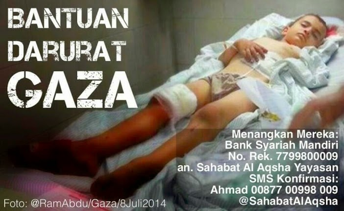 DONASI FOR GAZA PALESTINA