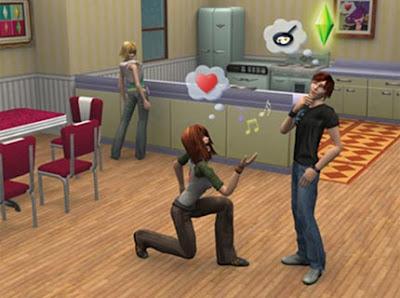 Dans 'Les Sims', le joueur peut voir à tout moment ce que pensent et ce que font les personnages. Comme dans le monde hyper-numérisé de demain