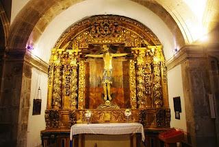 monasterio de Corias, iglesia, capilla lateral