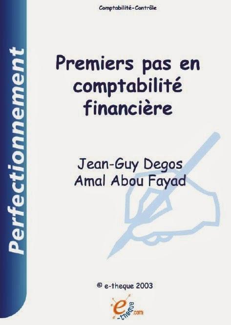 Télécharger le Livre : Premiers Pas en Comptabilité Financière