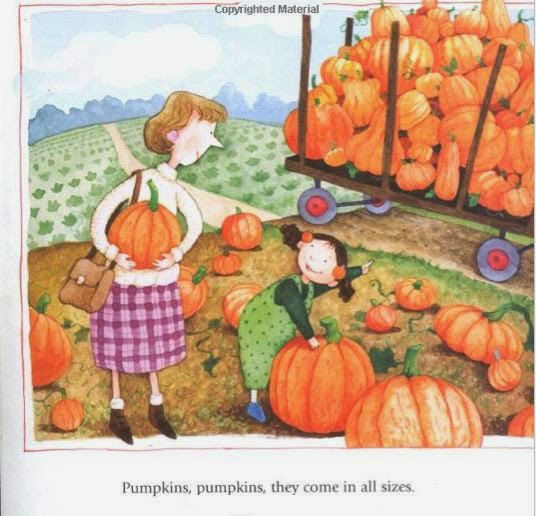 sample page from I LIKE PUMPKINS by Jerry Smath