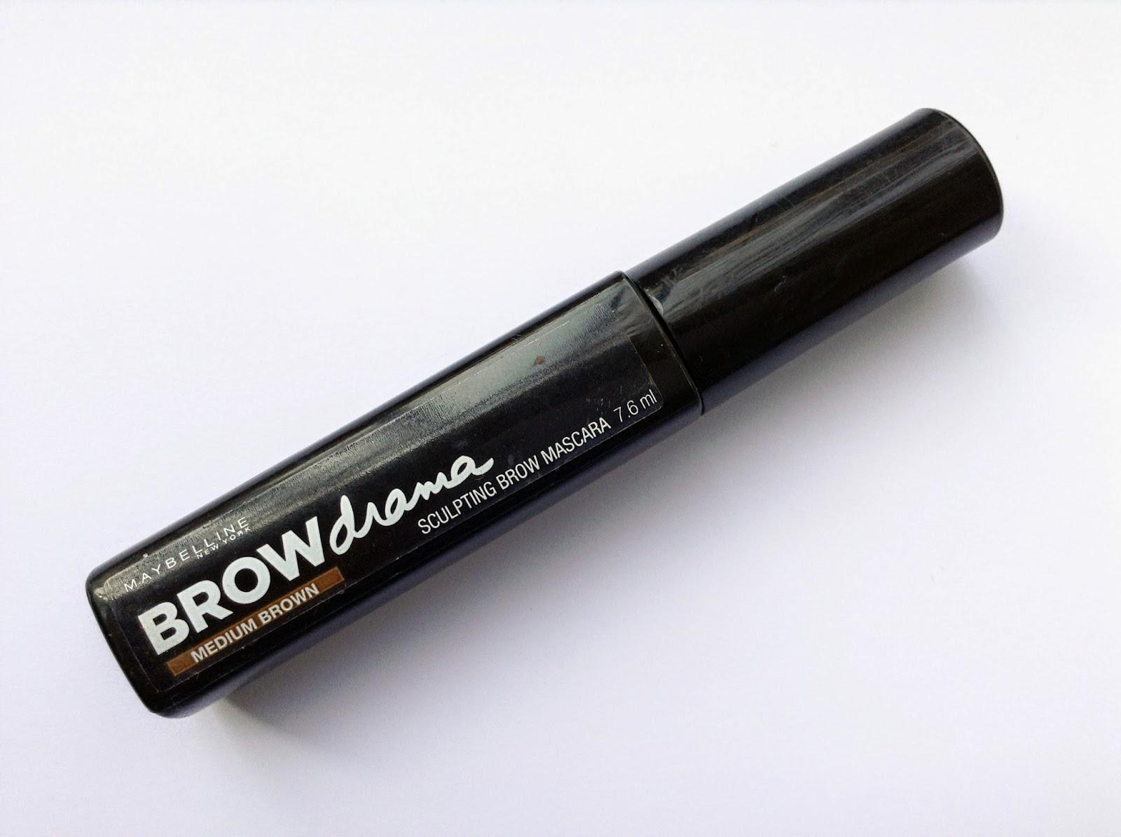 browdrama di maybelline, il il gel mascara di maybelline per sopracciglia