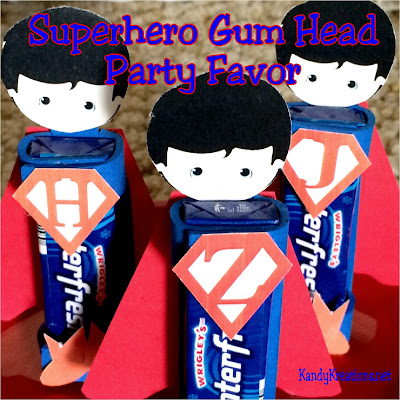 Invite these little superheroes to your next birthday party for a personalized party favor that all your guests will love. The complete directions and all the printables are included for you to make your own at your next Superman or superhero party.