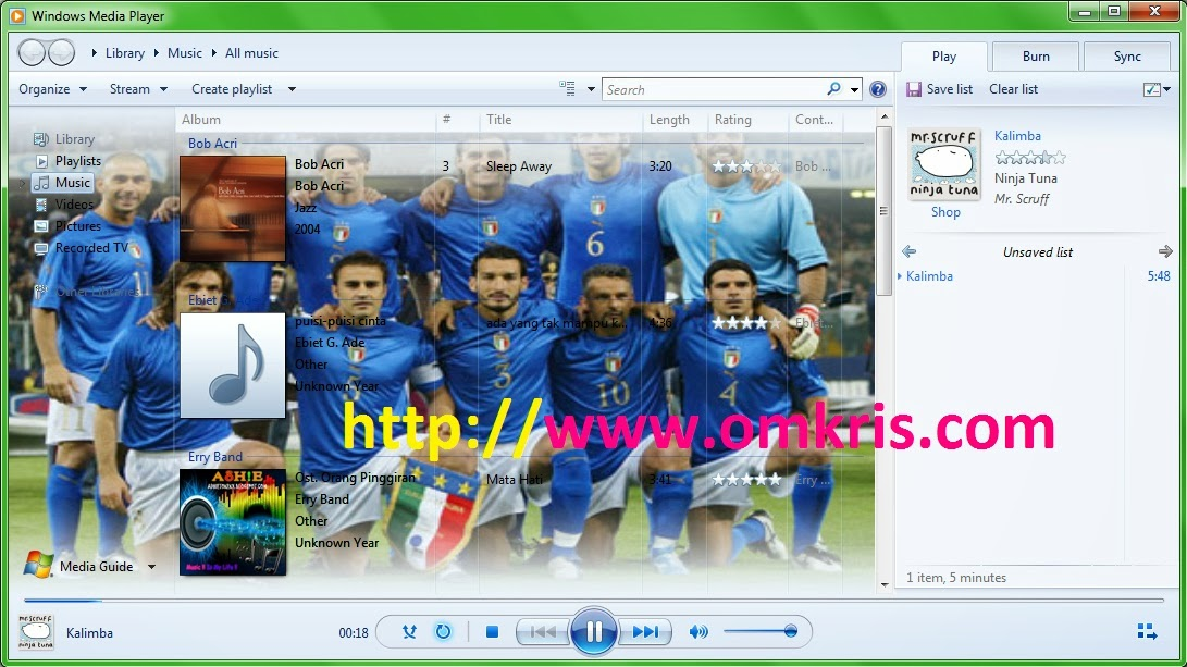 Cara Merubah Backgroud Windows Media Player 12