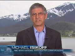 Michael Isikoff in Alaska