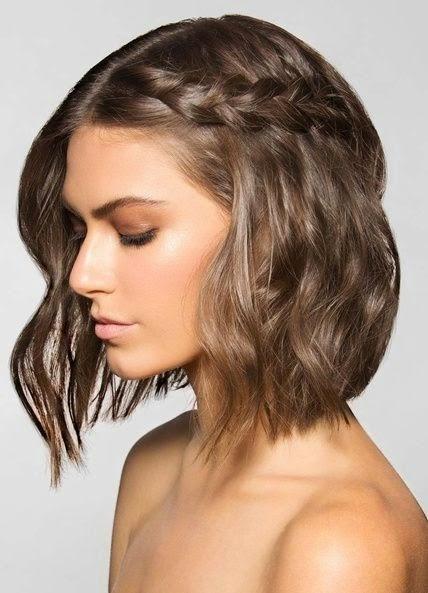 Peinados fáciles para cabello corto o media melena  - Peinados Niña Media Melena