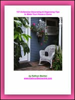 121 Dollarwise Decorating & Organizing Tips eBook