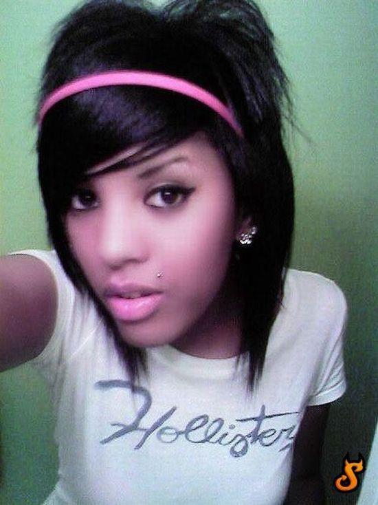 black girls Cute haired