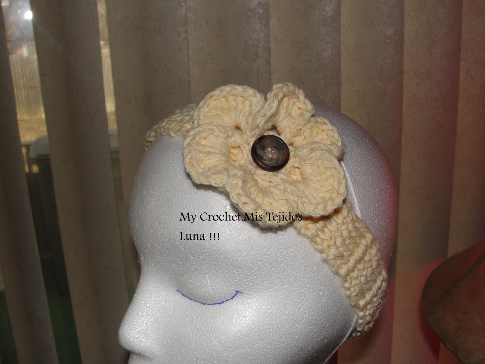 My crochet mis tejidos by luna diademas o vinchas mis - Diademas a crochet ...