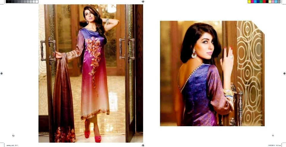 Zarqash Eid Dress Collection 2014