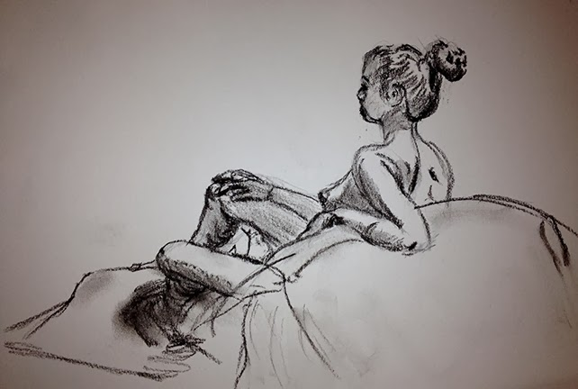 Nyack Center Figure Drawing March 6 Drawing Session