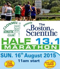 Clonmel Half-Marathon...Sun 16th Aug 2015