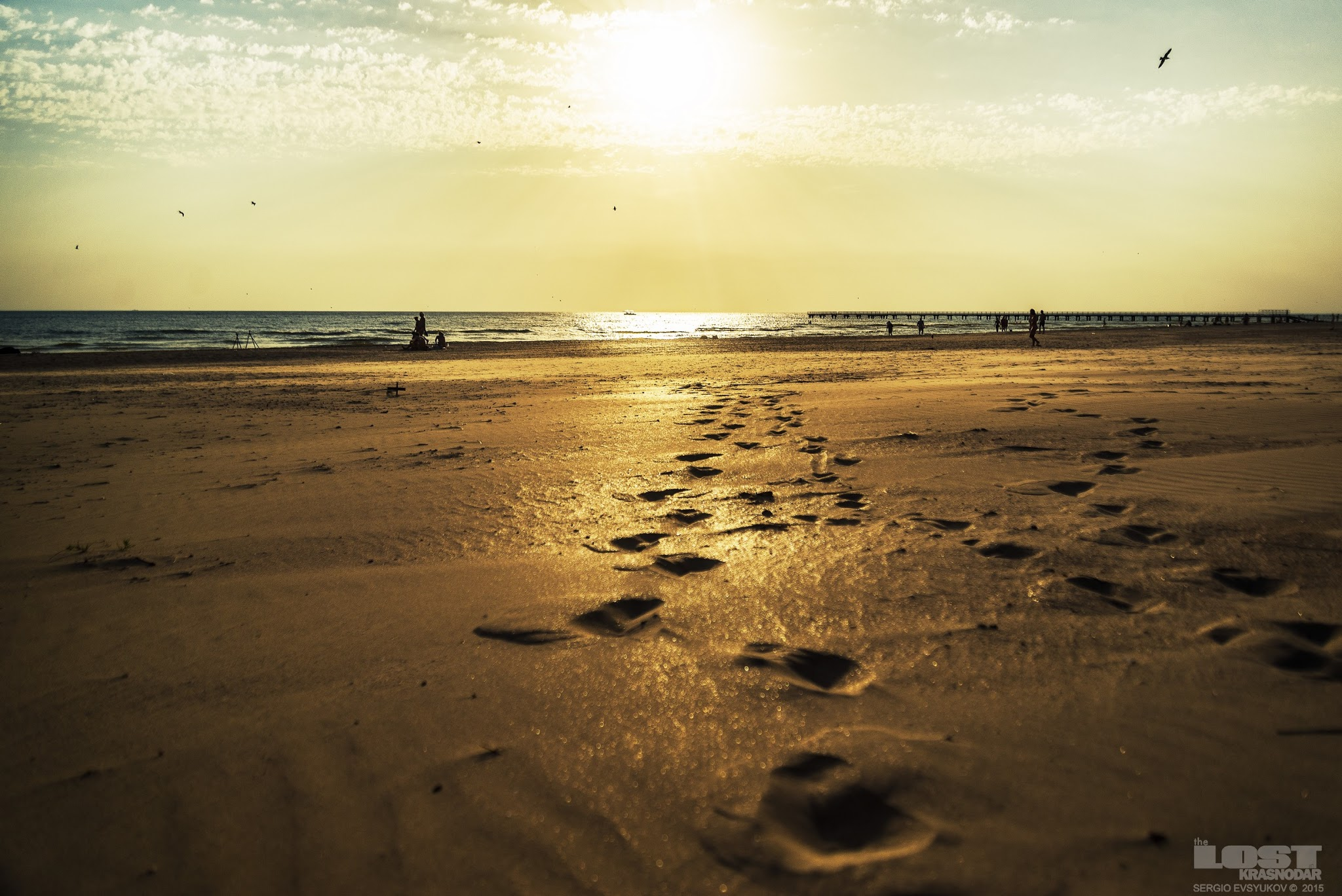 Песчаный пляж Анапы