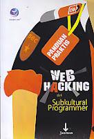 toko buku rahma: buku PANDUAN PRAKTIS WEB HACKING DARI SUBKULTURAL PROGRAMMER , pengarang jasman, penerbit andi