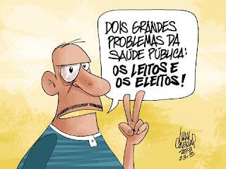 A Saúde pública é o vírus da hipocrisia - Por Carlos Moreira / Ipueiras
