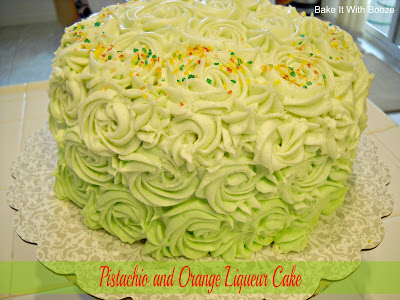 Recipe: Pistachio and orange liqueur cake (Watergate cake)