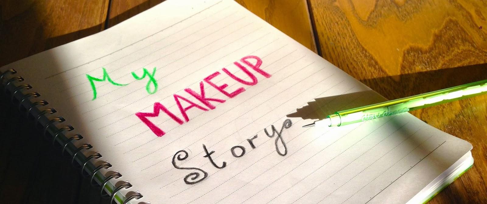 My Makeup Story Tag Emmasbeginning