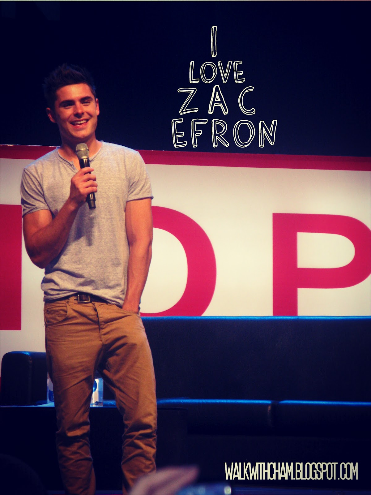 Walk with cham penshoppe fan conference starring zac efron penshoppe fan conference starring zac efron kristyandbryce Images