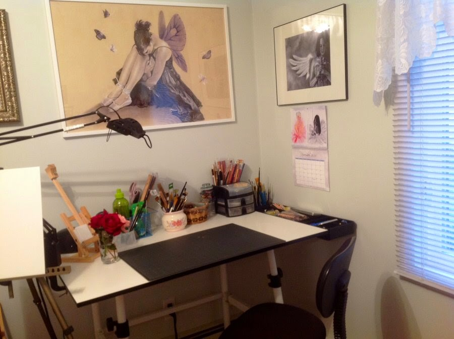 Enchanted Visions artist, Katerina Koukiotis' studio
