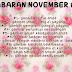 November Challenge #2 .:GETARAN JIWA:.