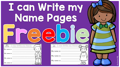 FREE Name writing download Clever Classroom blog