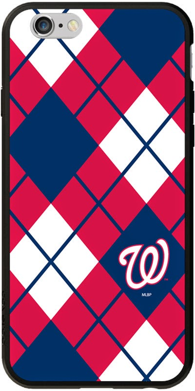 Washington Nationals NCAA Argyle iPhone 6 Case