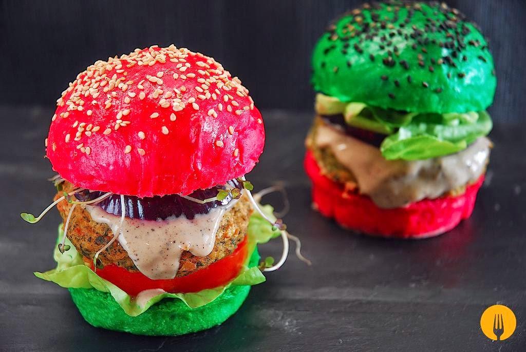 Receta hamburguesas cocinar en casa es - Hamburguesas vegetarianas caseras ...