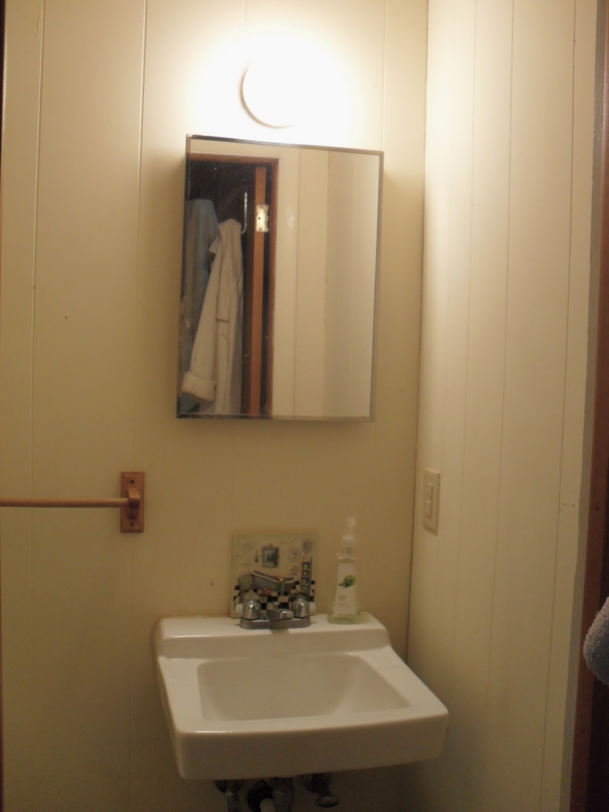 The Remodeled Life Updating A Boring Bathroom Mirror