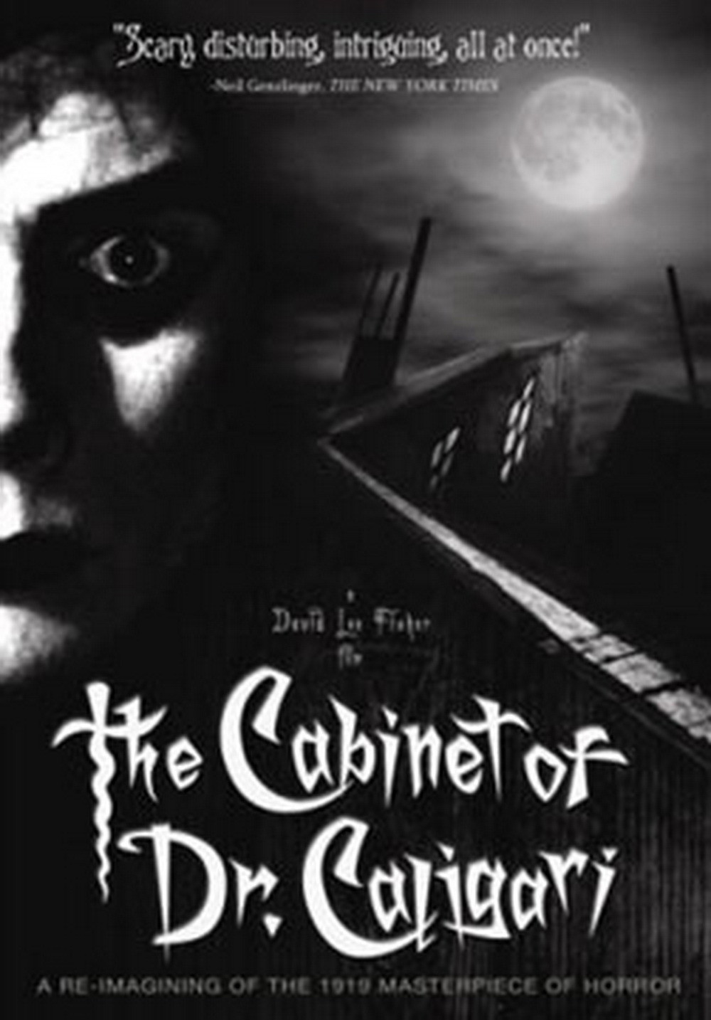 an analysis of the movie the cabinet of dr caligari During the silent film era the cabinet of dr caligari also features one of the earliest known examples of situational typography interacting with a scene through the use of visual special effects, in this case stop-motion animation.