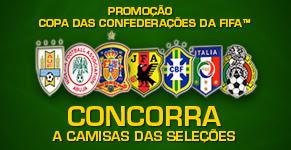 """Promoção """"Camisas da Copa das Confederações"""""""