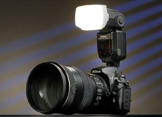 DSLR built-in flash