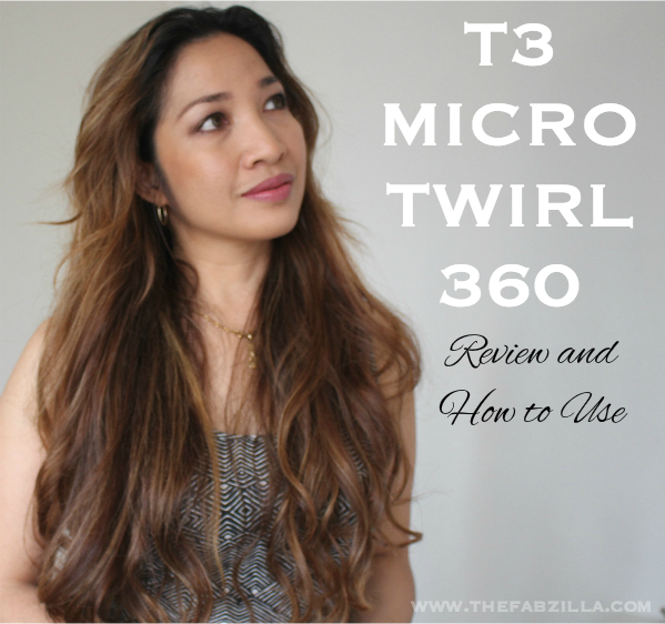 T3 Micro Twirl 360 Review and How To Use, How to loose waves, loose waves tutorial, beach waves, hairstyle, summer hair style, summer hair trend, kim kardashian waves
