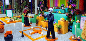 Se suman Centros de Atención Múltiple a celebración del Día de Muertos