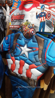 Let your kid save the world with a Captain America costume for Halloween