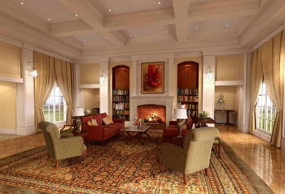 Warna Interior Ruangan Untuk Desain Rumah Klasik