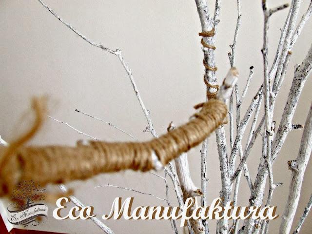 motyw skandynawski w domu - DIY z patyków we wnętrzu. Inspiracje by Eco Manufaktura