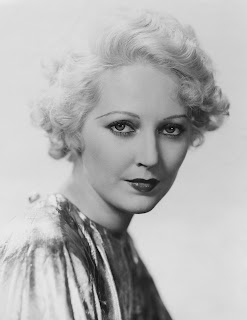 Vintage black and white photo of Thelma Todd.