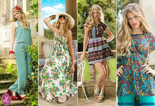 Moda primavera verano 2016 vestidos, monos, blusas.