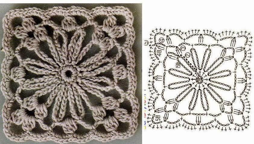 Handmade by iris nowe bombki i schematy for Piastrelle uncinetto filet schemi